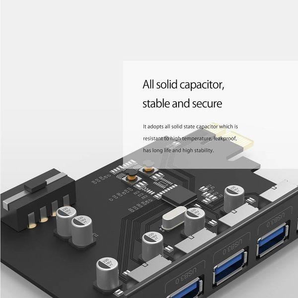 Orico 4 ports USB 3.0 PCI-E carte d'extension