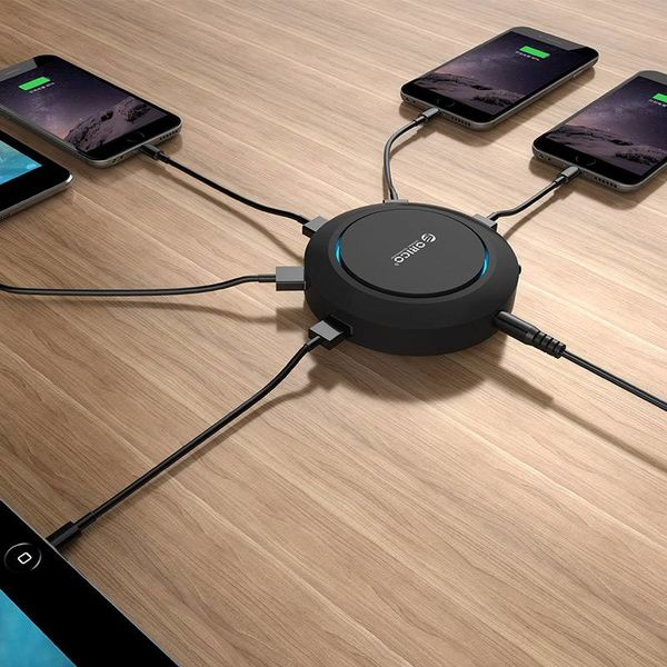 Orico USB Port Charger with QI Wireless Charging Mode