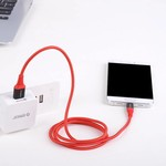 Orico 1 Meter Kevlar USB-Typ-C-Daten und Ladekabel - 2,4A - Rot