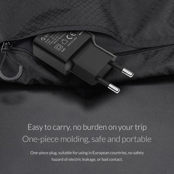 Orico Chargeur USB Compact Home Voyage Chargeur 1A / 5W - Noir