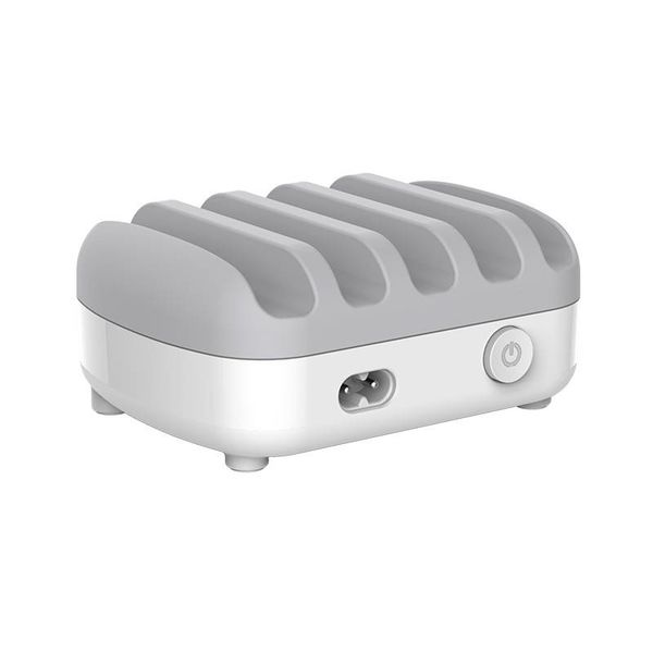 Orico Multi charger docking station 40W 5 Port USB charging station - White