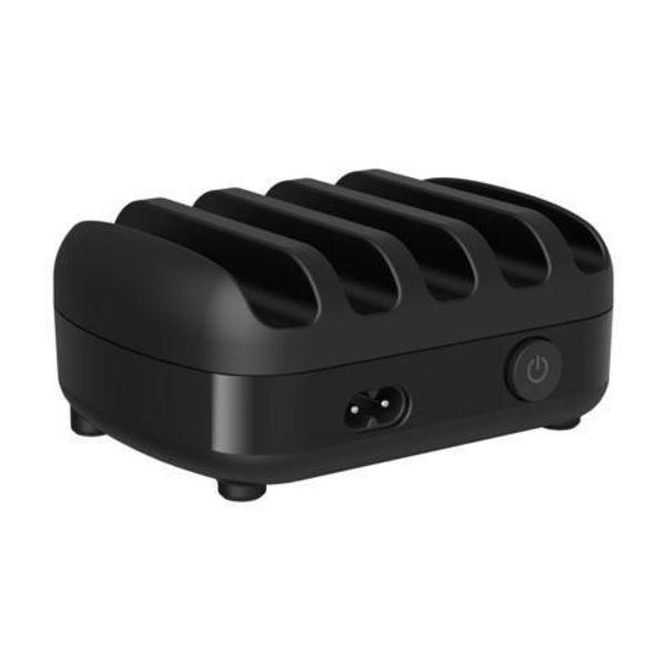 Orico 40W Multi charger docking station 5 Port USB charging station - Black