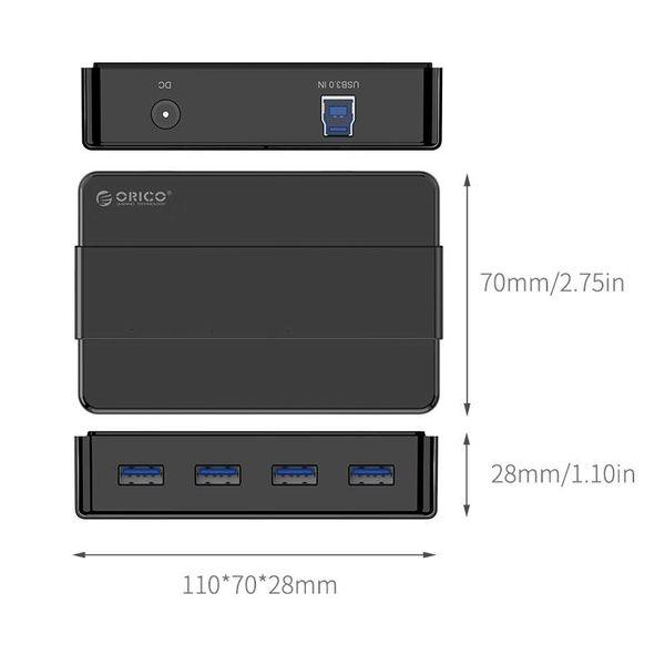 Orico 4 Port USB 3.0 HUB - noir