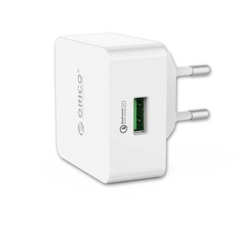 Orico USB thuislader met Quick Charge 2.0 laadpoort - 5V/9V/12V - Wit