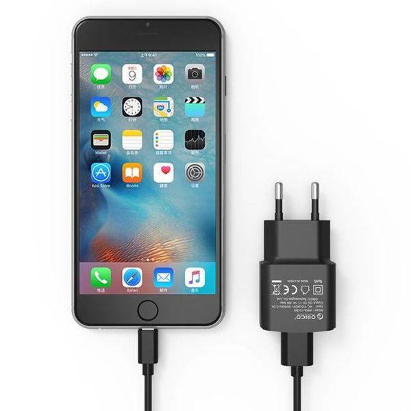 Orico Chargeur secteur compact / chargeur de voyage USB 2A / 10W - Noir