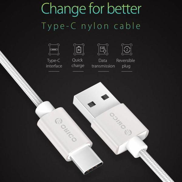 Orico Orico 1m câble USB C fort pour Smartphones et tablettes 3A