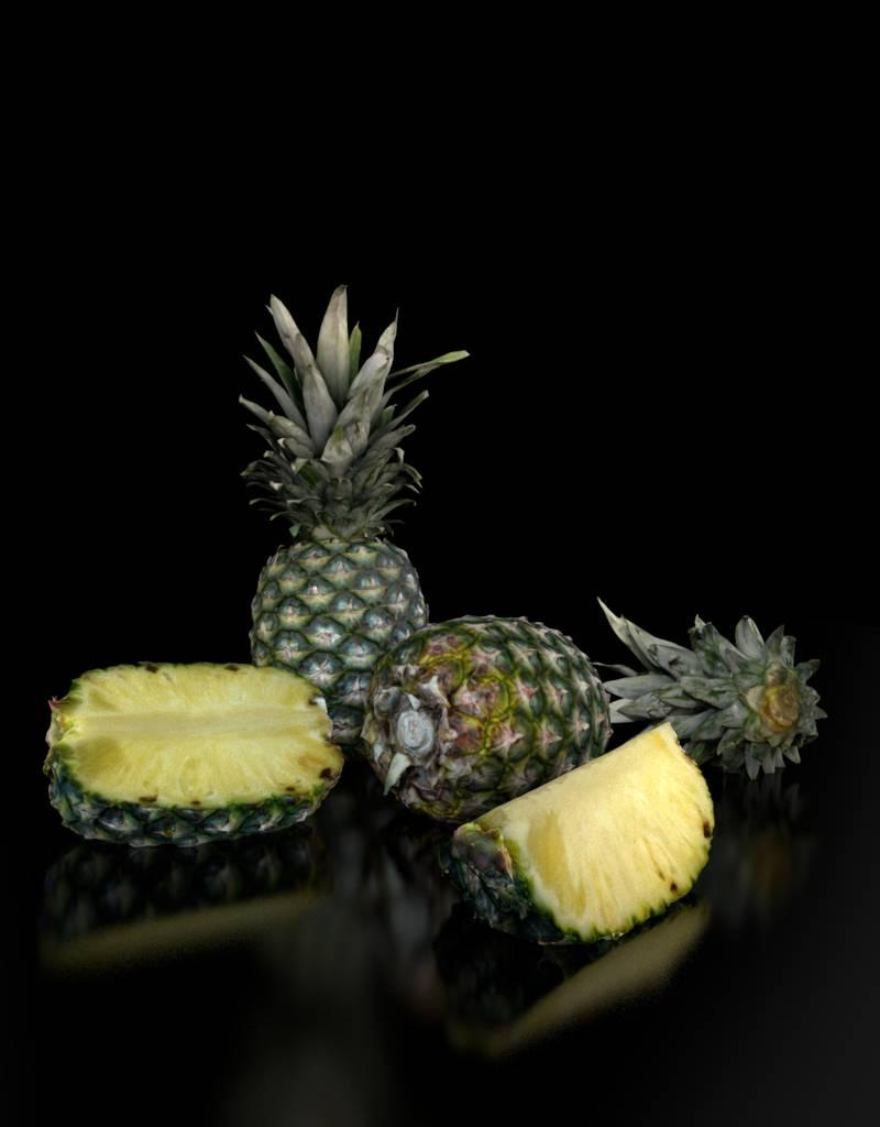 3D model pineapple