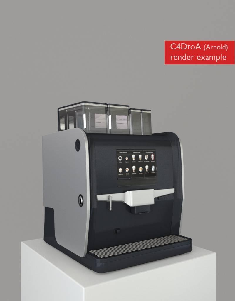 3D model coffee machine Nio