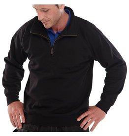 Beeswift shirt polyester/katoen met rits