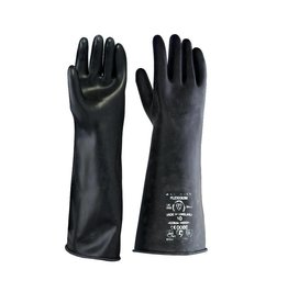 Beeswift Middleweight latex handschoen 17 inch
