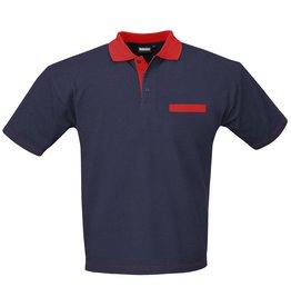 Indushirt Poloshirt 2-kleurig