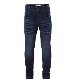 Name it Name it Donkerblauwe Regular Fit Jeans Tejs