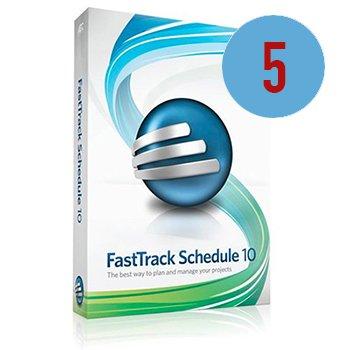 AEC Software FastTrack Schedule 10 - 5er Serverlizenz