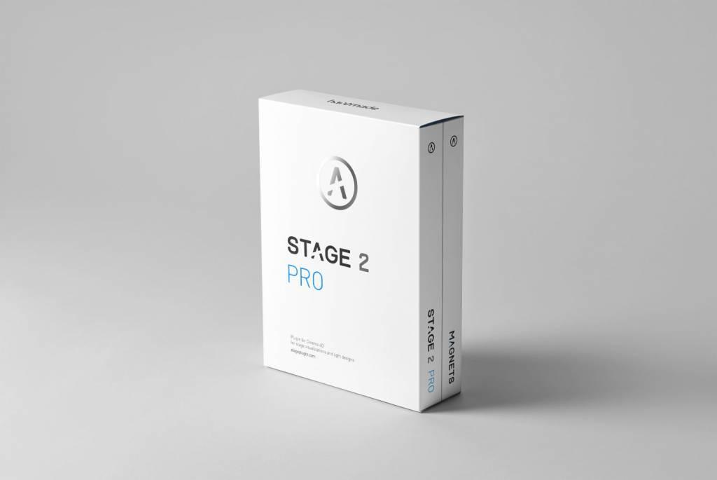 hantmade Stage Pro - Cinema 4D Plugin - Upgrade: Stage > Stage 2 Pro