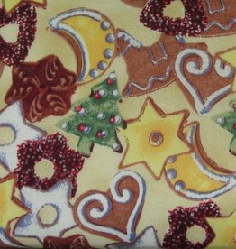 """Stoff """"Weihnachtsbäckerei"""""""