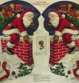 Stiefelpaneel Weihnachtsmann