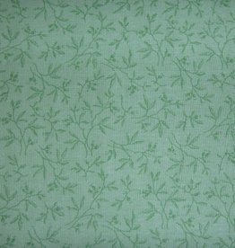 "Stoff ""Grüne Blätter pastellgrün"""