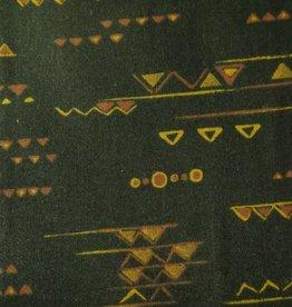 """Stoff """"Afrika Muster schwarz"""
