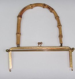 Taschenverschluss Bambusbügel