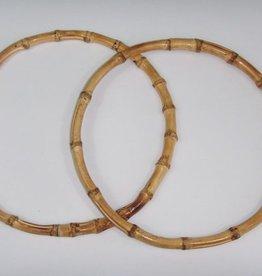 Taschengriffe Bambus rund