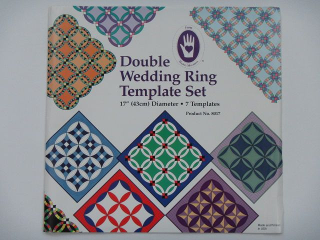 "Schablonen-Set ""Double Wedding Ring"""