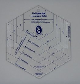 Hexagon Ruler, 6 Größen