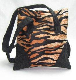 Tasche Tigermuster