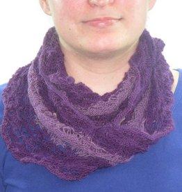 Möbius Lace Loop violett