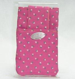 Handy-Tasche rosa Blümchen
