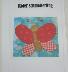 """Anleitung """"Roter Schmetterling"""""""