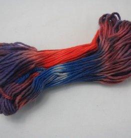 Opal Filzwolle orange-violett