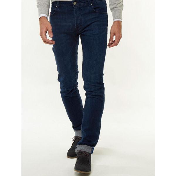 Jeans Leonardo Donker Blauw