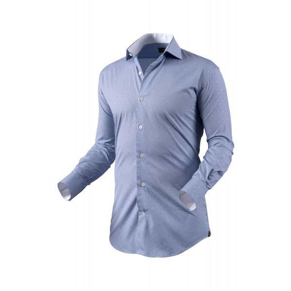 Dress Shirt Blauw Ruit