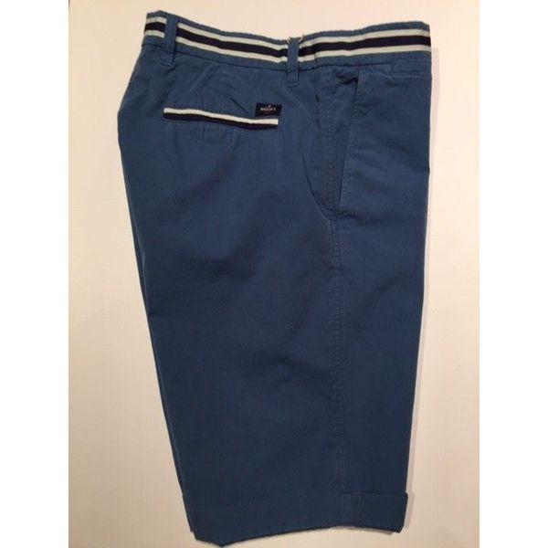 short m. blauw