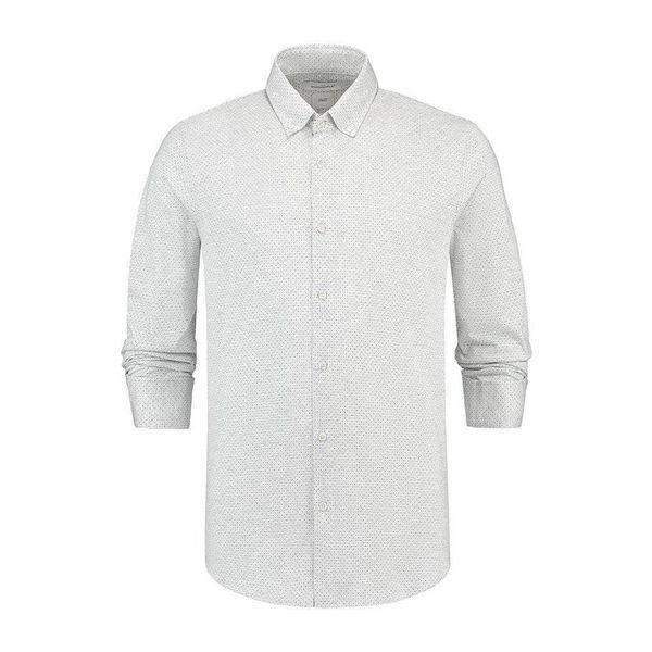 shirt tricot light grey/stip