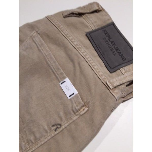 jeans Anbass Slim beige