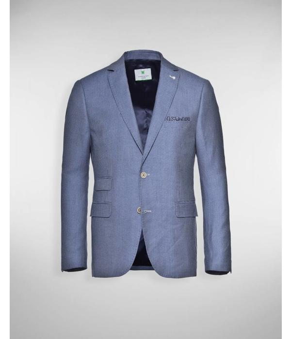 Jacket & Son Jacket & Son colbert M5 blauw