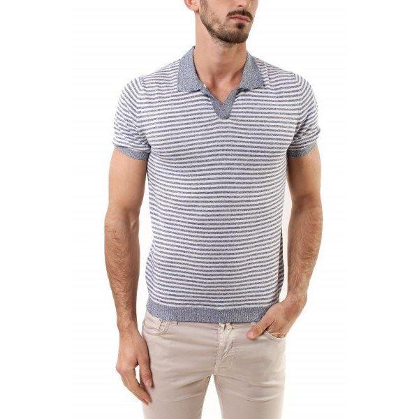 polo shirt streep tricot