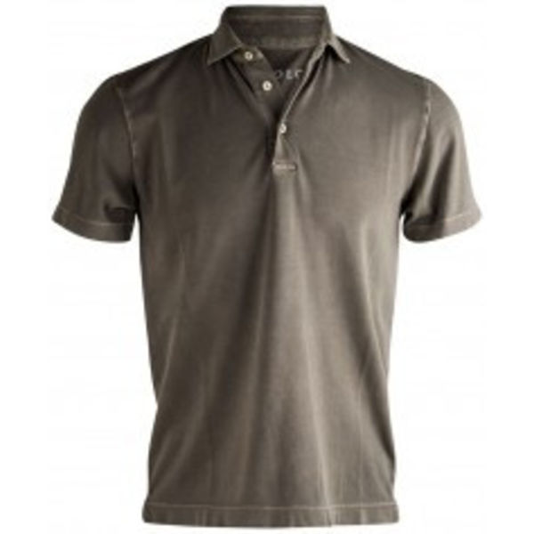 polo shirt light grey tricot