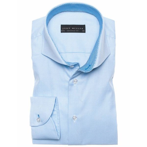dress shirt l. blauw