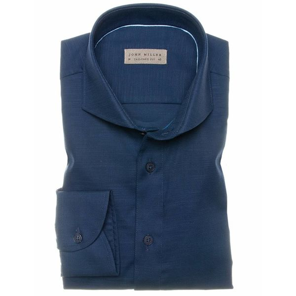 dress shirt d. blauw