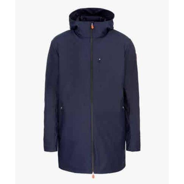 rain coat d. blauw