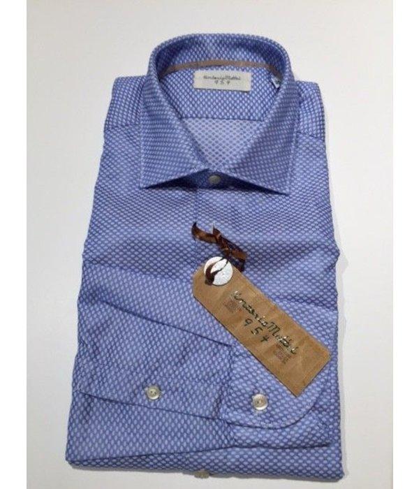 tintoriaMattei 954 shirt blue UPR NJW