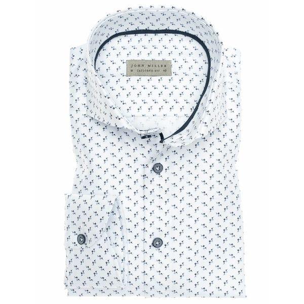 Dress Shirt Wit Motief