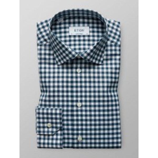 dress shirt ruit groen