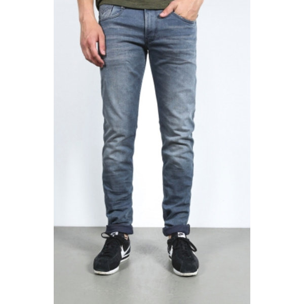 Anbass Blue Weft Comfort Denim