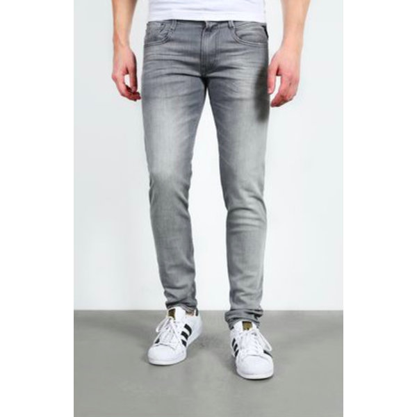 Anbass grey stretch Bull Denim