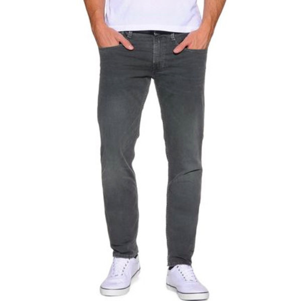 Anbass Grey Stretch Denim Metalblast