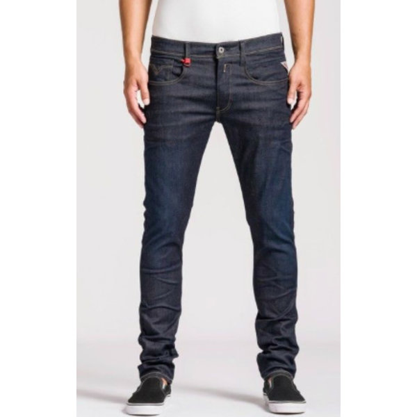 Anbass dark blue Hyperflex stretch Denim