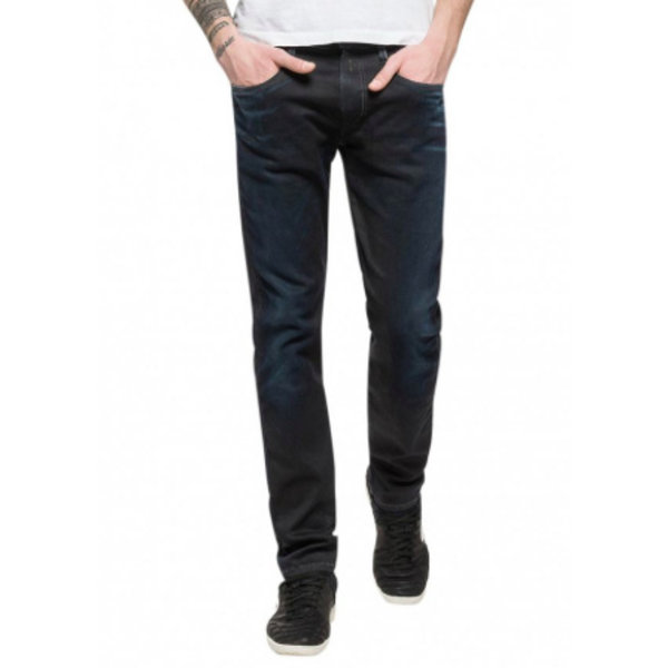 Anbass blue Hyperflex stretch Denim